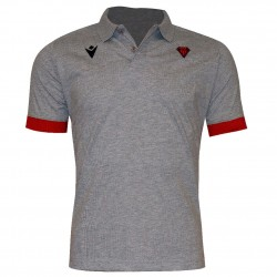 Polo officiel gris/rouge senior - Biarritz Olympique Pays Basque