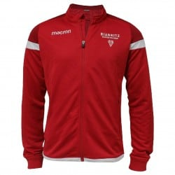 Shirt Full Zip Travel Rge Adulte Biarritz Olympique