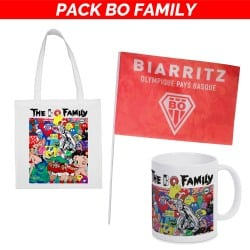 Pack BO Family  : Tote bag + Mug + Drapeau