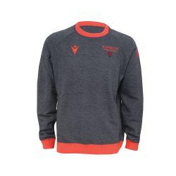 Sweat Col Rond Junior 2021 GRIS_ROUGE