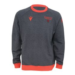 Sweat Col Rond Adulte 2021 GRIS_ROUGE