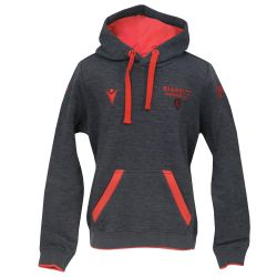 Sweat Capuche Junior 2021 GRIS_ROUGE